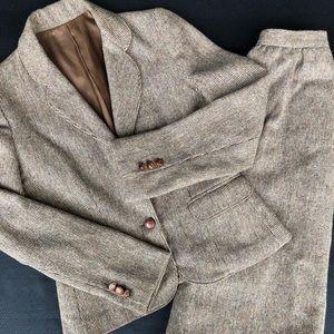 Dresses & Skirts - Vintage Claude Danielle skirt suit